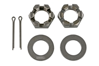 "1"" Spindle Nuts & Washers Kit for 2-7K Round Spindles"