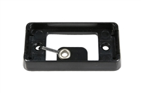 Black Mounting Bracket for Trailer Lights - Self Grounding