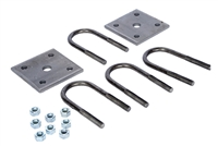 "1-3/4"" U-Bolt Kit For 2,000 - 2,200 lb Round Trailer Axles"