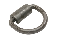 "3-1/2"" Wide Forged Weld-on Trailer D-Ring - 3/8"""