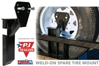 "Fayette Weld On Spare Tire Mount 1/2"" studs"