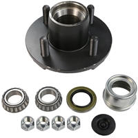 "2,000 lb 4 Bolt on 4"" Idler Hub Complete Kit"