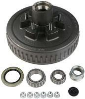 5,200 - 6,000 lb 6-Bolt Electric Brake Drum Complete Kit