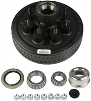 "5,200 - 7,000 lb Electric Brake Drum Complete Kit - 1/2"" Studs"