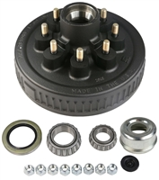 "5,200 - 7,000 lb Electric Brake Drum Complete Kit - 9/16"" Studs"