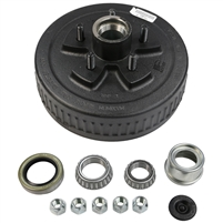 "3,500 lb 5 Bolt on 4.5"" Electric Brake Drum Complete Kit"