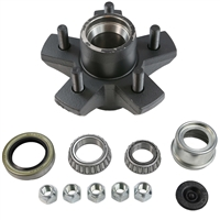 "3,500 lb 5 Bolt on 4.5"" Idler Hub Complete Kit"