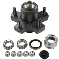 "2,200 lb 5 Bolt on 4.5"" Idler Hub Complete Kit"