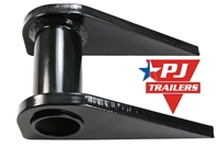 PJ Trailers Monster Ramp Rod Center Mounting Flange
