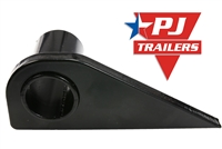 PJ Trailers Left Hand Mounting Flange for Gooseneck Ramps