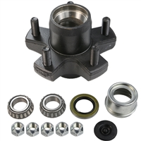 "2,000 lb 5 Bolt on 4.5"" Idler Hub Complete Kit"