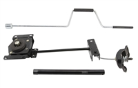 "Undermount Spare Tire Winch Kit - 11"" Extension"