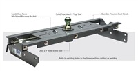 B&W Turnover Ball Gooseneck Hitch for 2001-2007 1 ton Chevy/GMC