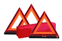 Florescent Triangle Reflector Warning Kit