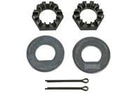 "1"" Spindle Nuts & Washers Kit for 12"" drums"