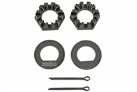 "1"" Spindle Nuts & Washers Kit for 10"" drums"