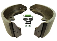 10-12K AL-KO Electric Brake Shoe & Lining Kit (1 Wheel)
