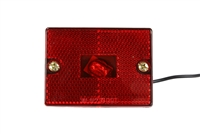 Red Clearance Marker Light with Reflector