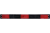 3 Light Red Identification Light Bar