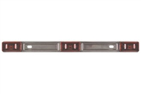 Non-LED Stainless Steel Red Identification Light Bar