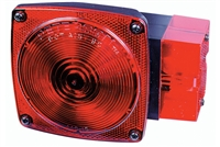 Rectangular Incandescent Stop Turn Tail Light RH