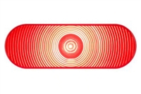 "Optronics ONE1 6"" LED Oval Stop/Turn/Tail Light - Red"