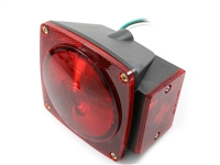 Optronics Square LED Stop/Turn/Tail Light - Red - RH