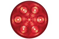 "4"" LED Round Stop/Turn/Tail Light - Red"