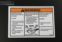 Surge Coupler Instructions Sticker