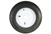 "15"" Provider Radial Tire and Wheel 205/75R15"