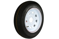 "12"" Trailer Tire 4 bolt wheel 4.80-12"