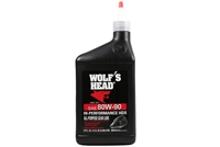 Wolf's Head High Performance 80W-90 All Purpose Gear Lube - 1 QT