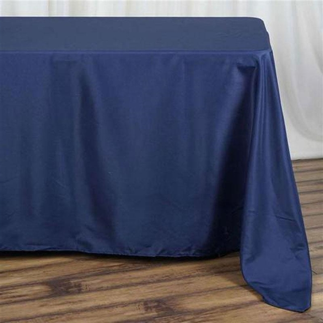Navy Blue Table Linens: Tablecloths, Runners, Overlays and more ...