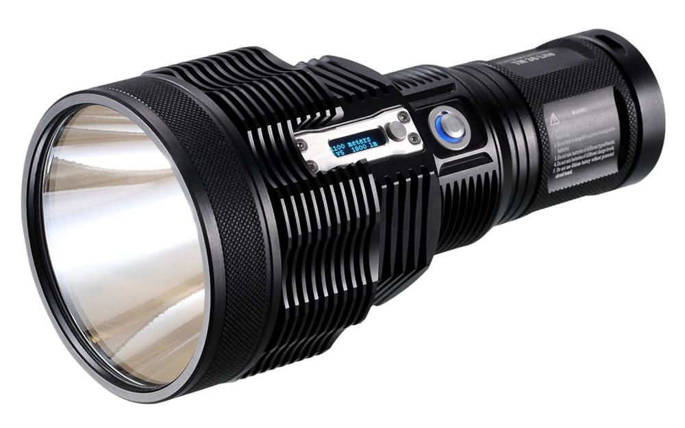 NiteCore TM36 Lite 1200 Yards Rechargeable Searchlight LED ...