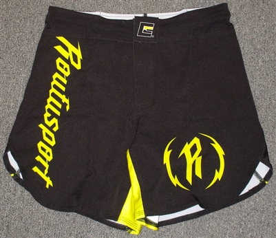 NEW STYLE! Roufusport Limited Edition Black Hybrid Fight Shorts
