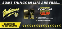Roufusport Kickboxing Trial Special With Gloves