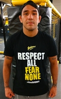 "Roufusport ""Respect All Fear None"" Tee"