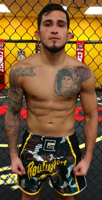 "NEW!! Roufusport Camo Muay Thai Shorts as worn by Sergio ""SP"" Pettis"