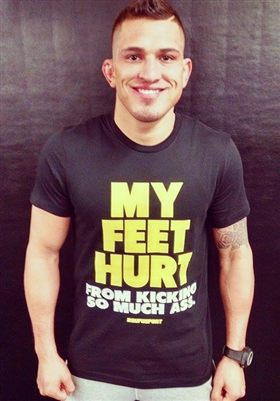 SALE! Roufusport My Feet Hurt Tee