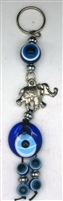 Elephant Evil Eye Key Chain (Small) - 7''
