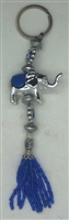 Elephant Evil Eye Key Chain - 6''