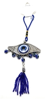 Evil Eye - EYE Shape Amulet - Glass Hanging