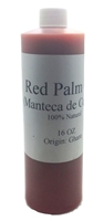 Red Palm Oil 16 OZ from Ghana, 100% Natural