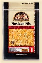 All-Natural Mexican Blend Shredded Cheese ~ 8oz