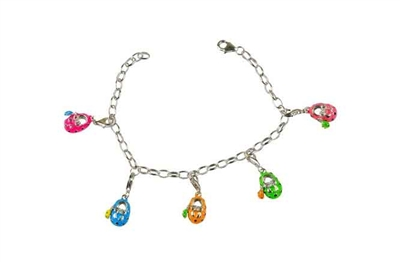 sterling silver charm bracelets for kids