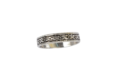 sterling silver band rings for women