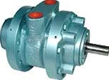Air Motor, 0.45 HP, 4 Vanes, 5.75 in-lbs Torque max.,  Hub Mounting, Reversible, 10,000 RPM max