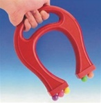 Powerful Horseshoe Magnet, plastic