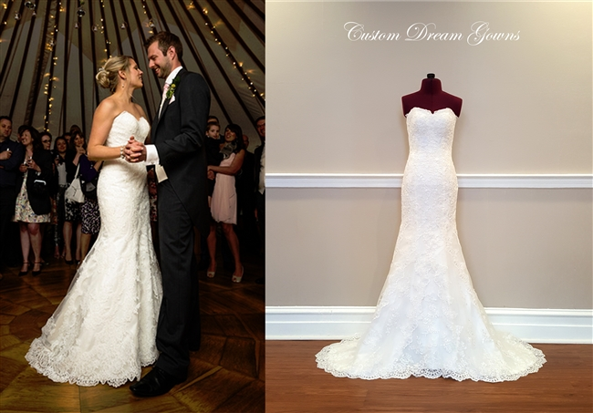 5840 Wedding Dress | Custom Dream Gowns | Wedding Dresses & Bridal ...