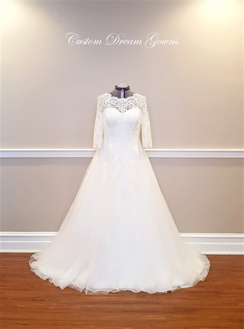 Ines | Custom Dream Gowns | Wedding Dresses & Bridal Gowns | Custom ...